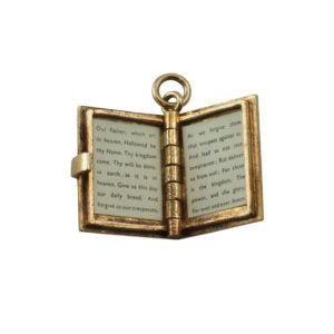 9ct Prayer Book Charm